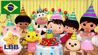 Desenho para Bebe | Canção de aniversário | Canções para Crianças | Little Baby Bum Júnior