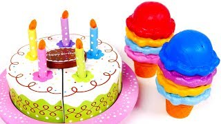 Birthday Cutting Cake Playset for Kids | Yippee Toys
