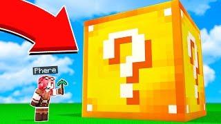Minecraft ITA - NON APRIRE IL LUCKY BLOCK GIGANTE!!