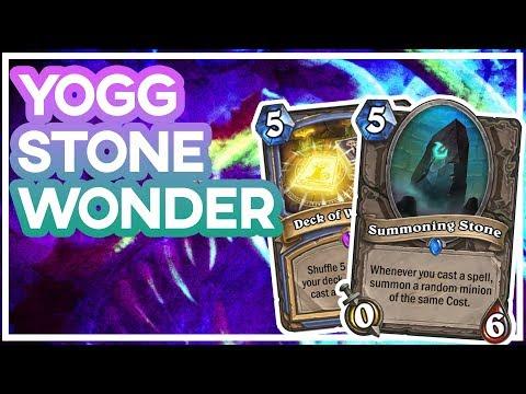 Hearthstone: Yogg Stone Wonder