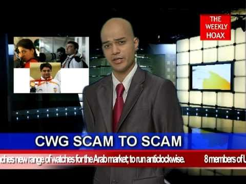 Indian Satire: Suresh Kalmadi Arrest Run-up: CWG SCAM