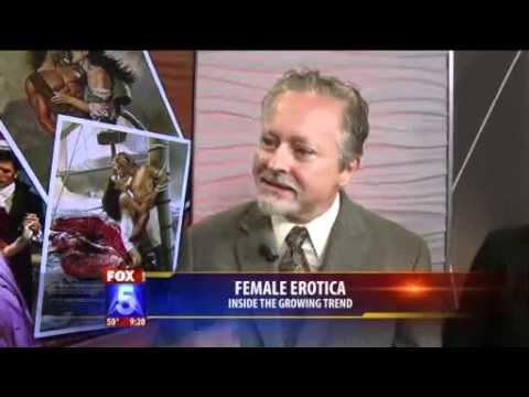 Women's Erotica Fiction Panel on Fox5 San Diego 4-18-12
