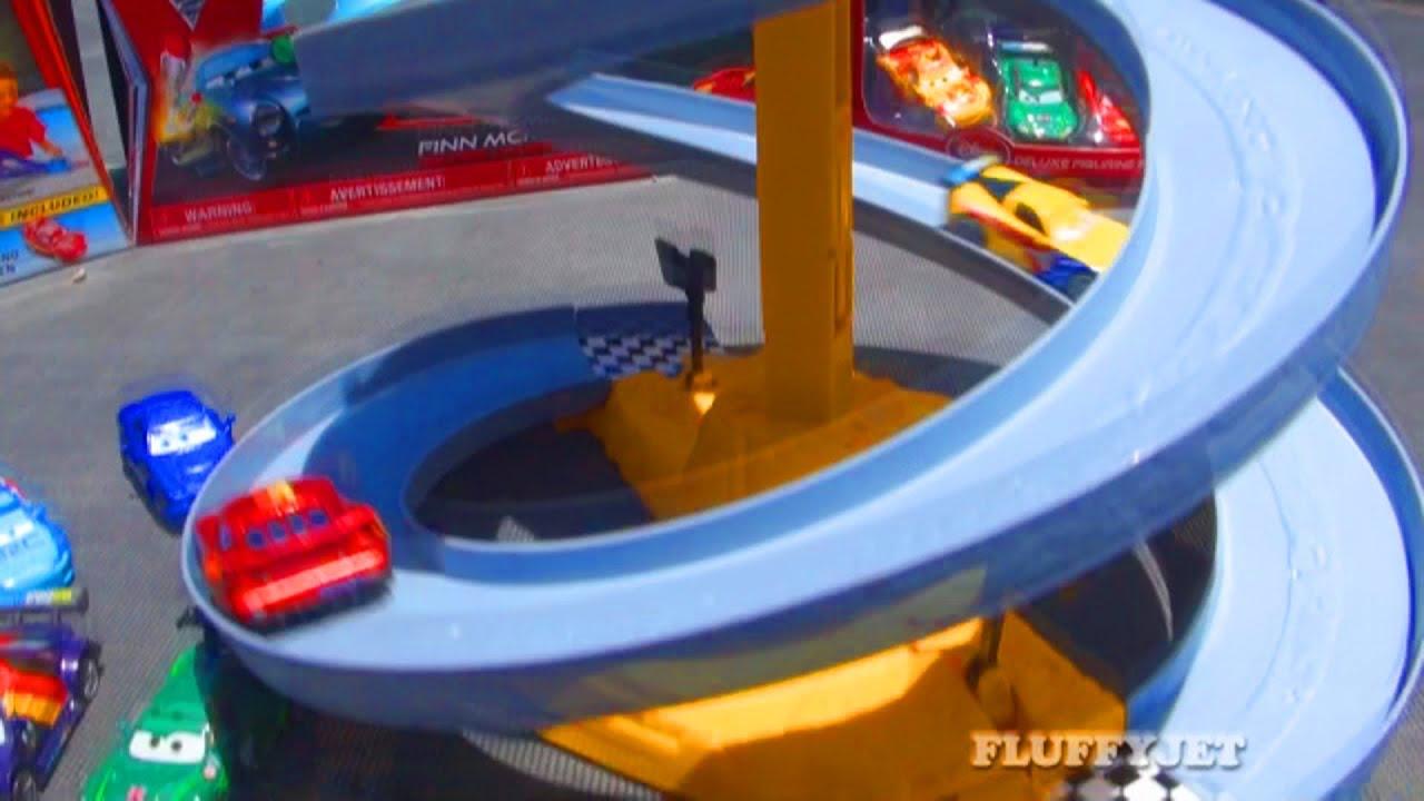 Disney Cars  World Grand Prix Toy Race Track