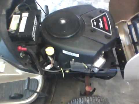 Changing Out Plugs In Craftsman Yt 4500 24 Hp Ohv V Twin