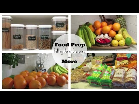 Food Prep Part 2 | Putting Away Groceries, Meat and Produce Tips + More