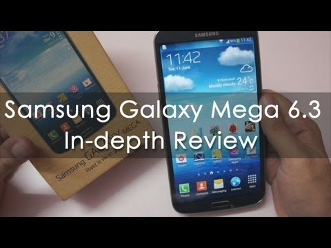 Samsung Galaxy Mega 6.3 Biggest Android Smartphone Review