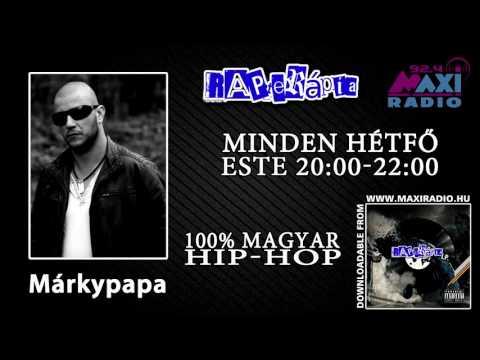 Rapterápia Márkypapa (Ghetto Radio) @MaxiRádió (Részlet)  2015-12-14