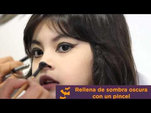 Tutorial: Maquillaje de Gatita para Halloween | Creciendo Juntos | Progress TV