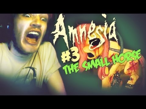 CREEPY ASS PONY! ;O Amnesia: Custom Story - Part 3 - The Small Horse Part B
