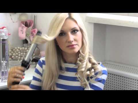 Видео как накрутить волосы