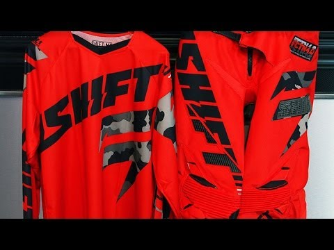 Gear Shifting on a Motorcycle 2015 Shift Faction Camo Gear