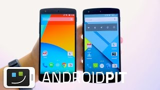 Android Lollipop vs Android KitKat - ¡Todas las novedades!