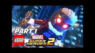 LEGO Marvel Super Heroes 2 Walkthrough Part 1 - Guardians of the Galaxy