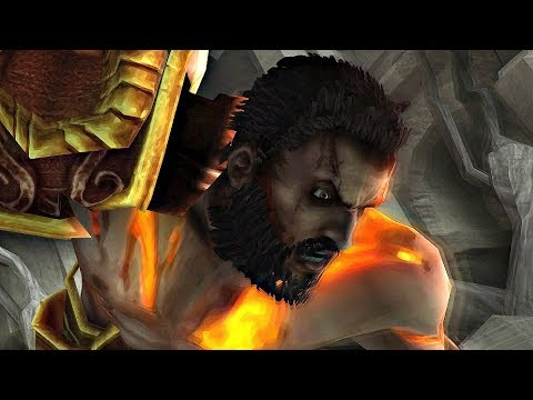God of War - Kratos Meets His Brother (Deimos Boss Fight)