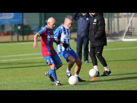 CHRIS HUGHTON & SAM BALDOCK STAR AT AITC WALKING FOOTBALL TOURNAMENT