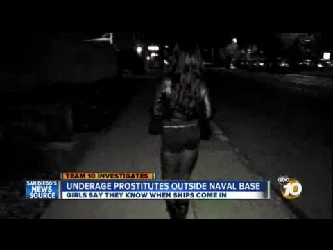 Underage Girls Sell Sex Near Naval Base video