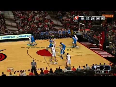 NBA 2k14 - Clippers (bumbert) Vs Blazers (chemik) - Cały Mecz - Slamdunk.com.pl