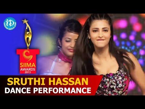 Sruthi Hassan Dance Performance@SIIMA 2013 | Telugu