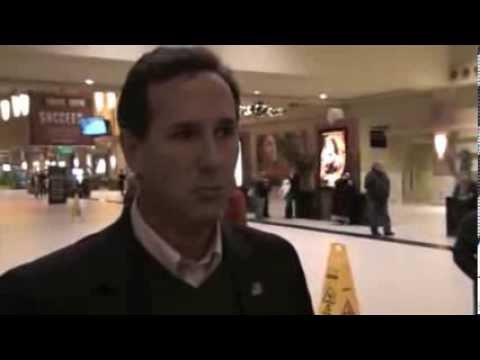 Santorum on His Movie, 2016, Cruz and Christie