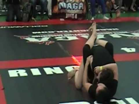 NAGA RI 2012 - Women's No-Gi Intermediate - under 120lbs. - Anick Bernier vs Erin Cooney
