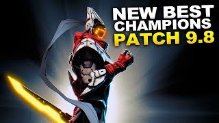 New Best Champions for Patch 9.8 Season 9 for Climbing in EVERY ROLE