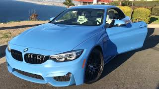 BMW M4 2019 Competition Package for Rent in Los Angeles