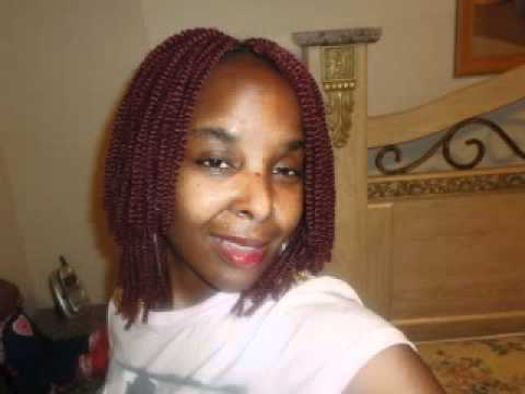 My 5th Hair Challenge HairStyle ♥ ♥Nubian Twist Crochet