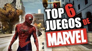 TOP 6 JUEGOS de MARVEL DE POCOS REQUISITOS! 2018 + LINKS Mega Y Mediafire!  #Infinity