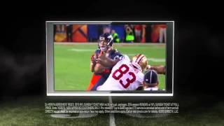 DIRECTV Randy Moss tv Commercial ad HD • NFL SUNDAY TICKET advert