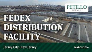 FedEx Distribution - Jersey City, NJ. 2016-03-08