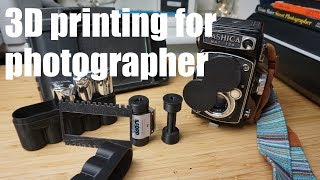 3d printing for a photographer