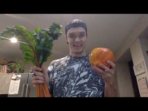 Live Kochen mit Gemüse aus dem Garten
