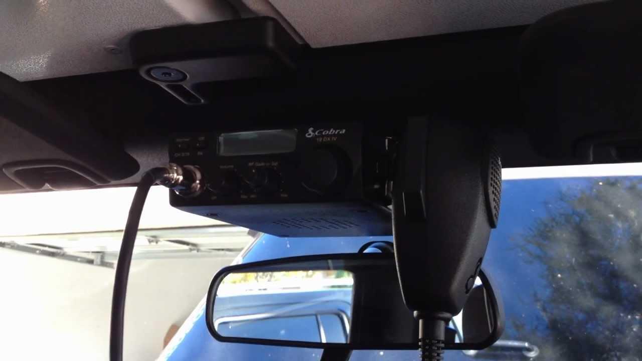 2013 Jeep Wrangler Unlimited >> JEEP WRANGLER CB INSTALL - YouTube