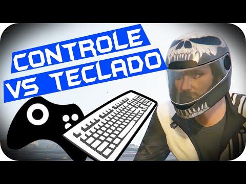 GTA 5 PC - Controle vs Teclado?