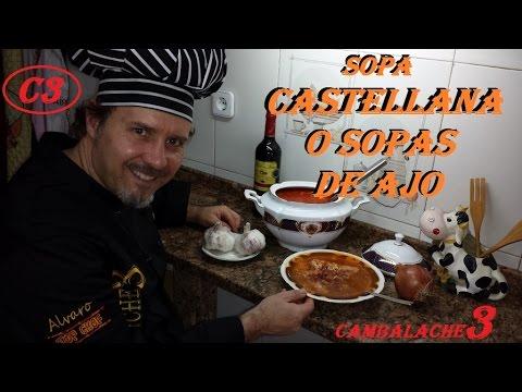 Sopa castellana o sopas de ajo 2 youtube - Sopa castellana youtube ...
