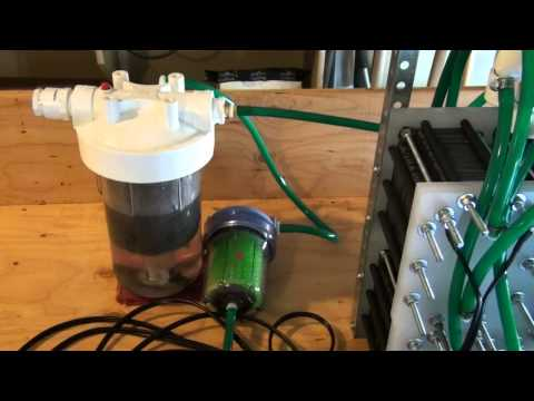 HHO 354 Plate Monster Hydrogen Generator Build Part 5