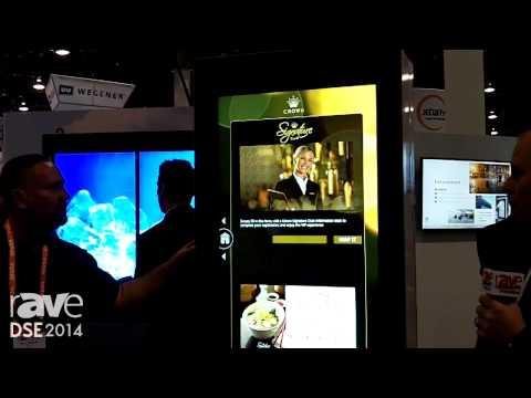 DSE 2014: VertiGo Demos the 47in Freestanding Pronto Product