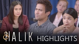 Jade and Ace silently mock Jacky while she is on the witness stand | Halik