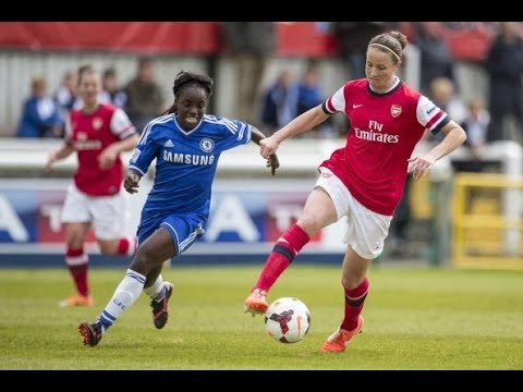 Chelsea v Arsenal 3-5: Goals and highlights - FA Women's Cup Semi Final 2014