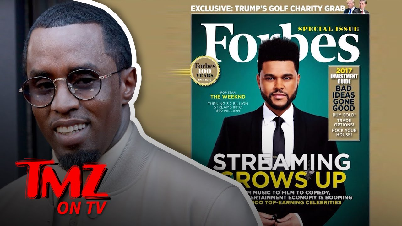 Diddy Beats Beyonce In Being The Highest Paid Celeb According To Forbes!   TMZ TV