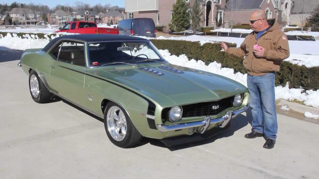 1969 Chevrolet Camaro 502 Classic Muscle Car For Sale In Mi Vanguard Motor Sales Youtube