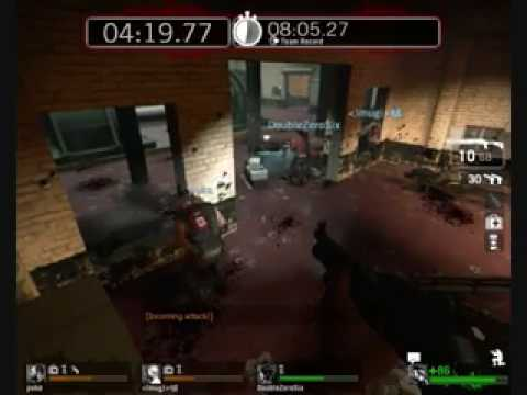 Left 4 Dead Survival Mode: No Mercy Generator Room - Gold Standard (1/2)