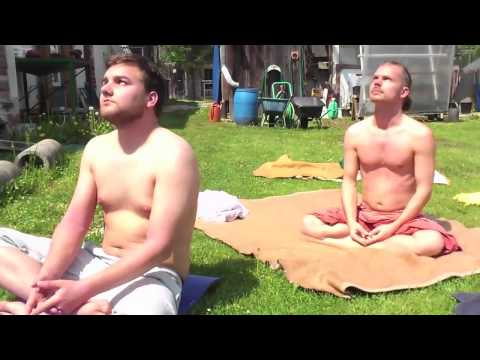 SONNENMEDITATION: auftretende Spontanbewegungen | SUNMEDITATION: sponaneous movements