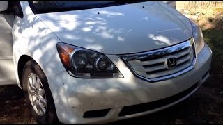 Honda Odyssey Cabin Air Filter Replacement. How to Replace Cabin Air Filter on a Honda Odyssey