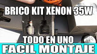 OPEL AMPERA BRICO KIT XENON 35W TODO EN UNO