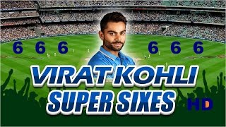 Virat Kohli 6 sixes in an over in cricket history