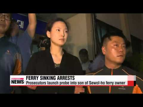 Prosecutors launch probe into son of Sewol ho ferry owner