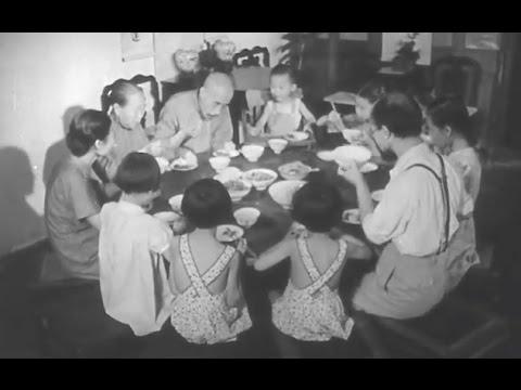 【左右視頻】四十年代北平中産家庭的珍稀生活視頻
