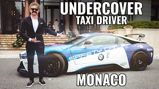 UNDERCOVER TAXI PRANK IN A SAFETY CAR & FAN RIDES   eVLOG