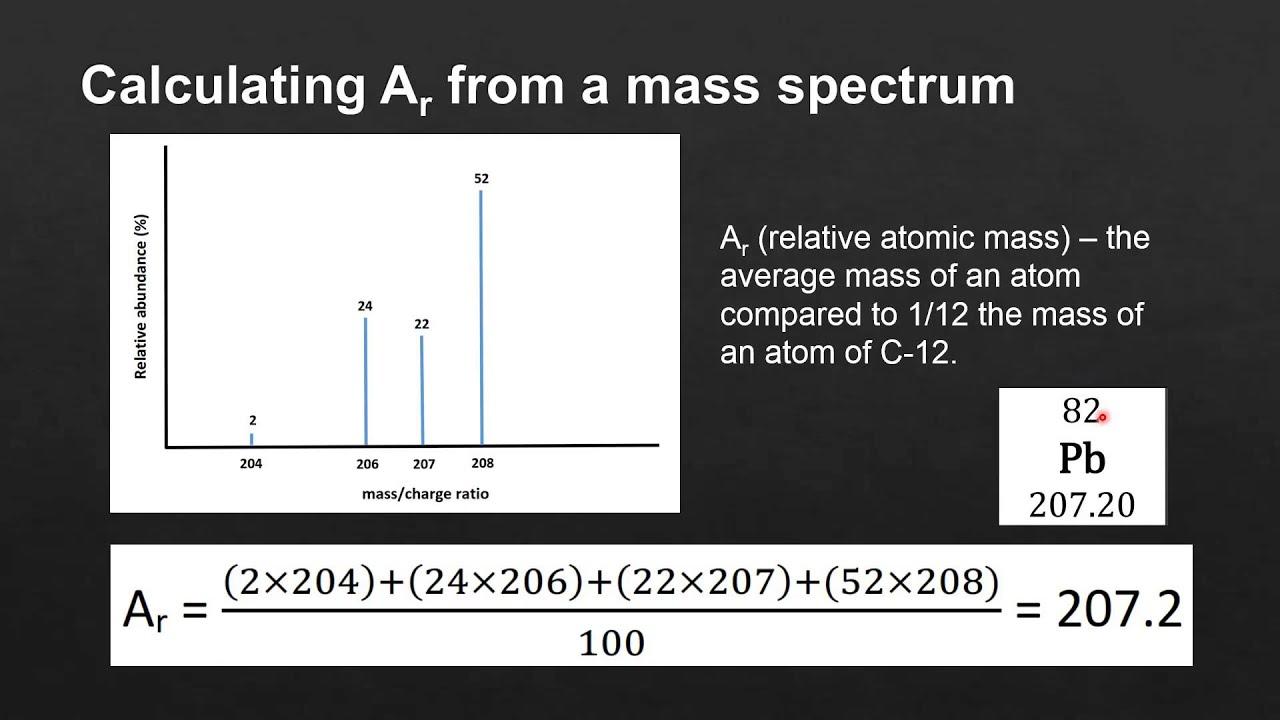 Chemistry average atomic mass worksheet answers